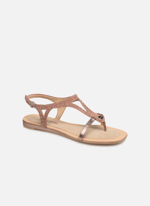 Sandales et nu-pieds JB MARTIN ALANIS Rose vue détail/paire