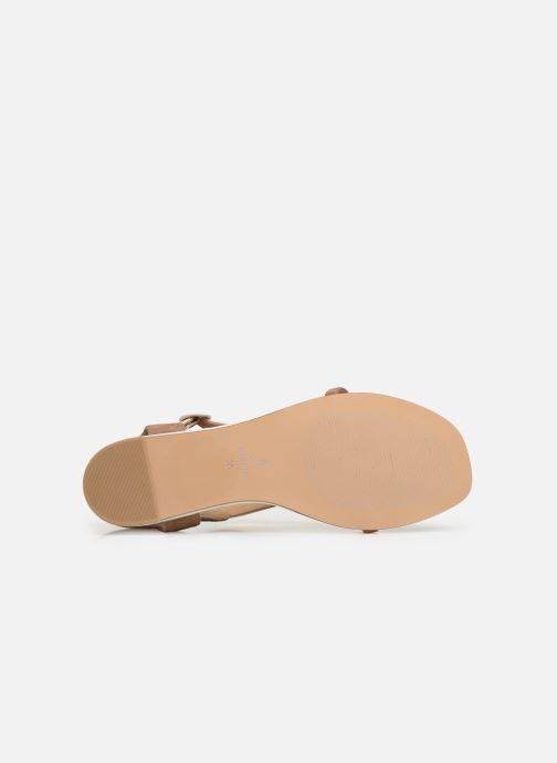 Sandales et nu-pieds JB MARTIN ARMOR Beige vue haut