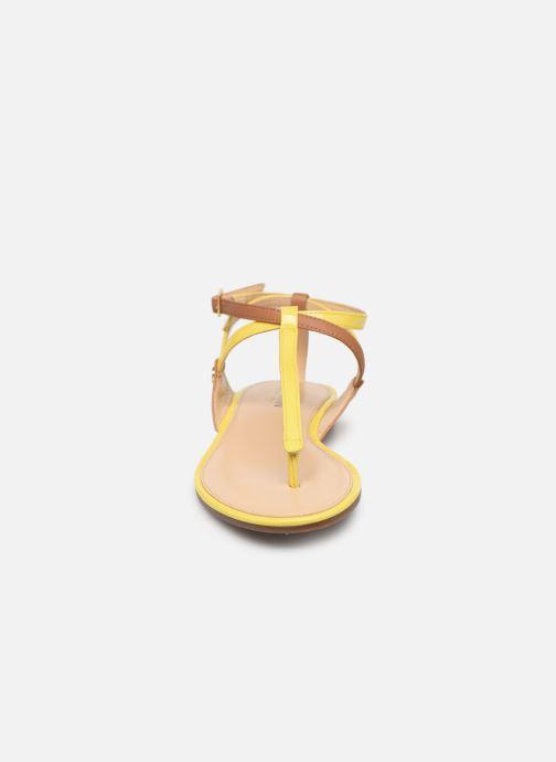 Sandalen JB MARTIN 2GENIE gelb schuhe getragen