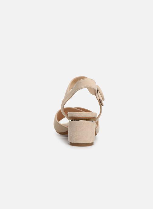 Sandales et nu-pieds JB MARTIN MABEL Beige vue droite