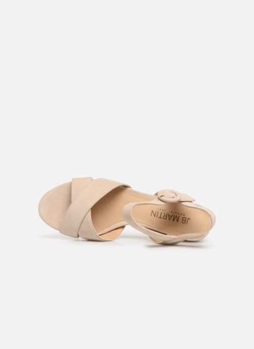 Sandales et nu-pieds JB MARTIN MABEL Beige vue gauche