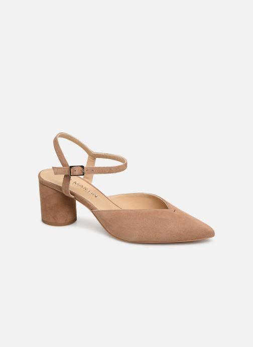 High heels JB MARTIN SERENA Beige detailed view/ Pair view