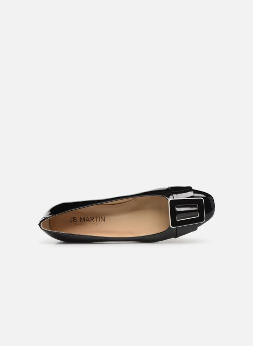 Ballet pumps JB MARTIN URIELLE Black view from the left
