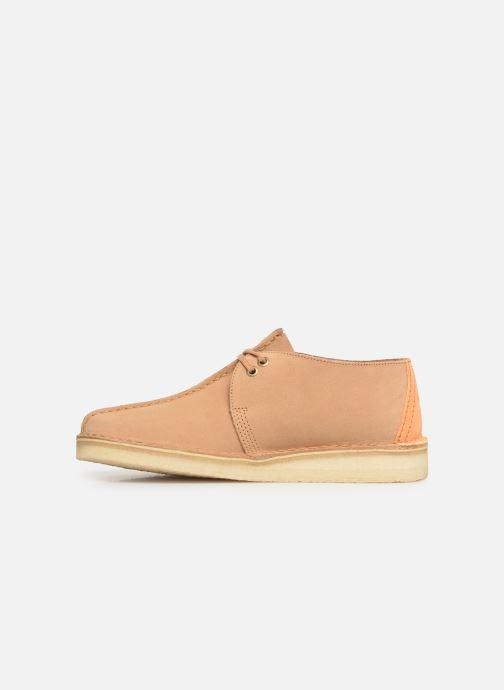Zapatos con cordones Clarks Originals DESERT TREK Marrón vista de frente