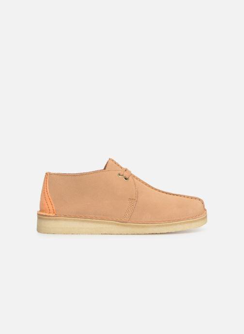 Chaussures à lacets Clarks Originals DESERT TREK Marron vue derrière
