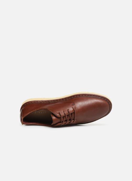 Zapatos con cordones Clarks Originals WALBRIDGE LACE Marrón vista lateral izquierda