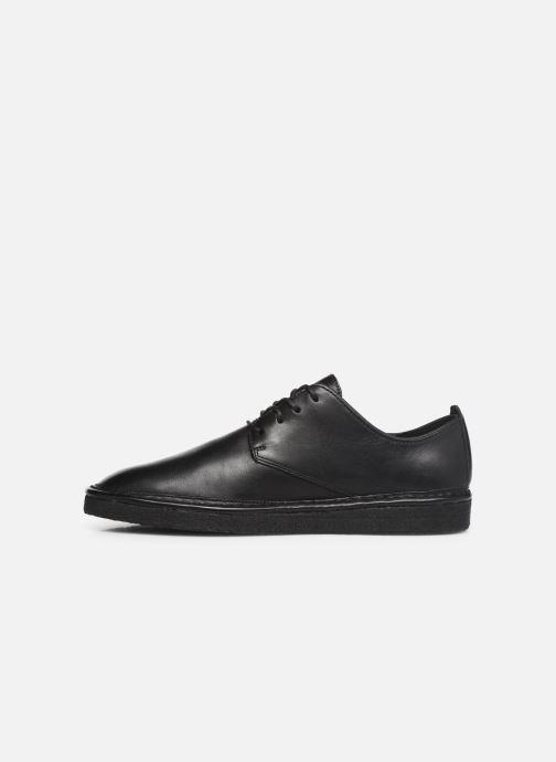Chaussures à lacets Clarks Originals WALBRIDGE LACE Noir vue face