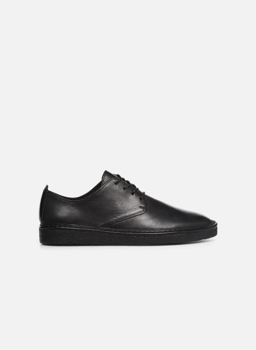 Chaussures à lacets Clarks Originals WALBRIDGE LACE Noir vue derrière