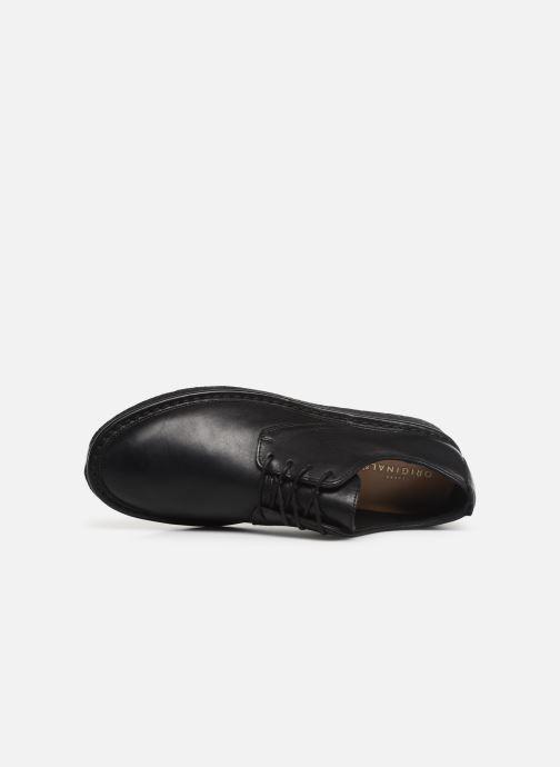 Chaussures à lacets Clarks Originals WALBRIDGE LACE Noir vue gauche