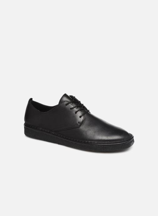 Snøresko Clarks Originals WALBRIDGE LACE Sort detaljeret billede af skoene