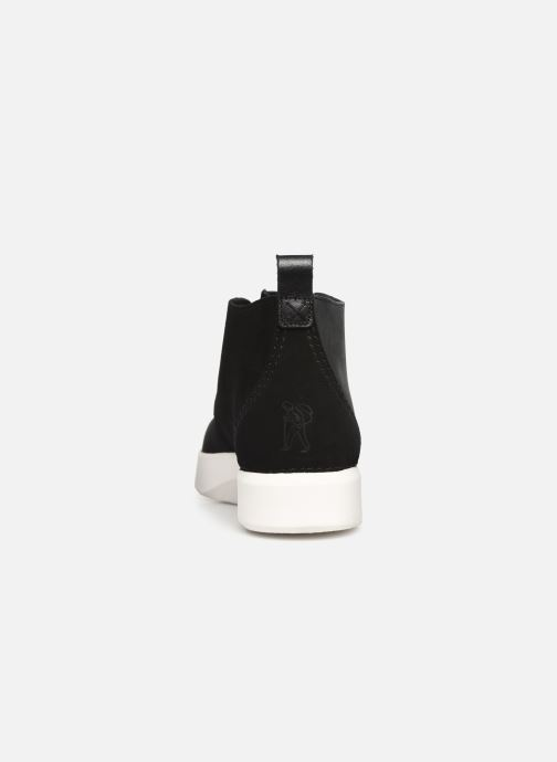 Ankle boots Clarks Originals TREK HEIGHTS Black view from the right