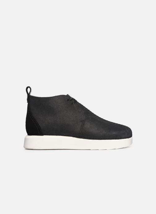 Boots en enkellaarsjes Clarks Originals TREK HEIGHTS Zwart achterkant