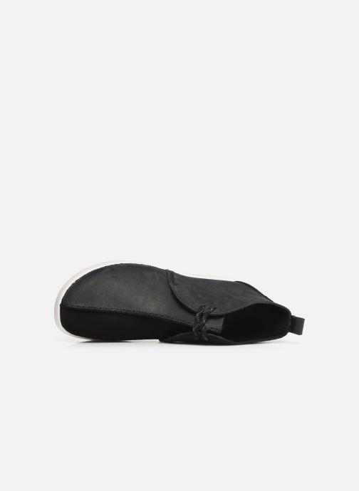 Boots en enkellaarsjes Clarks Originals TREK HEIGHTS Zwart links
