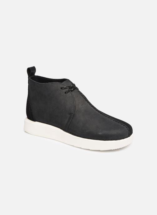 Bottines et boots Clarks Originals TREK HEIGHTS Noir vue détail/paire