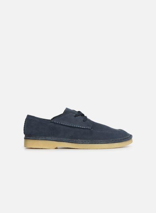 Zapatos con cordones Clarks Originals WALBRIDGE EASY Azul vistra trasera