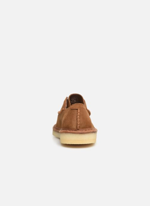 Zapatos con cordones Clarks Originals WALBRIDGE EASY Marrón vista lateral derecha