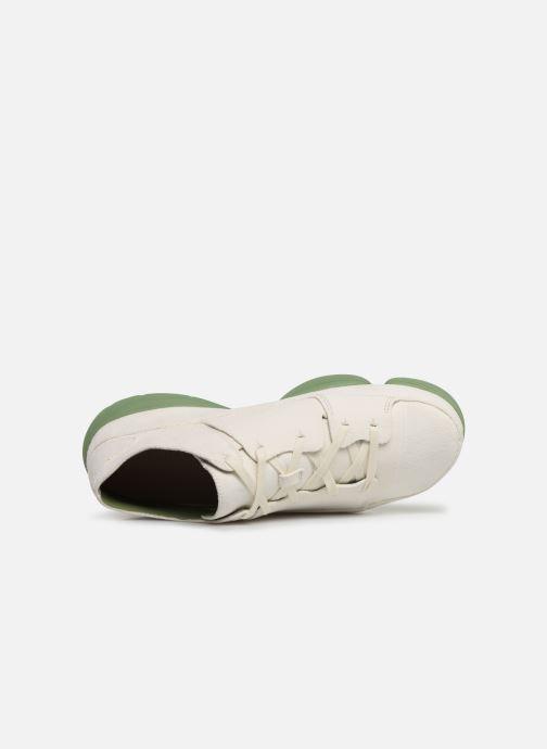Baskets Clarks Originals TRIGENIC EVO Blanc vue gauche