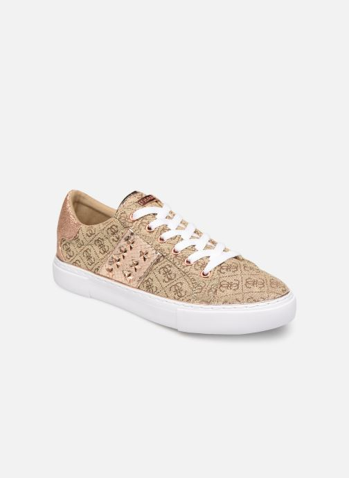 Sneakers Guess GAMER4 Goud en brons detail