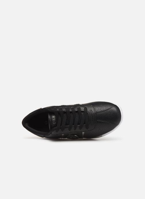 Sneaker Guess RYLINN schwarz ansicht von links