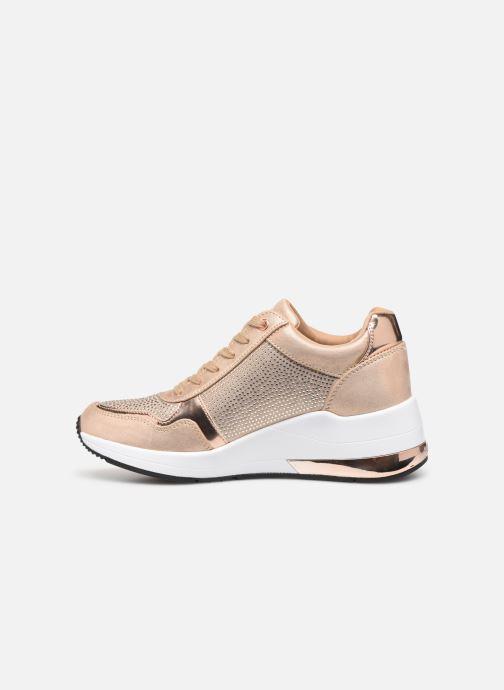 Sneakers Guess JANEET Goud en brons voorkant