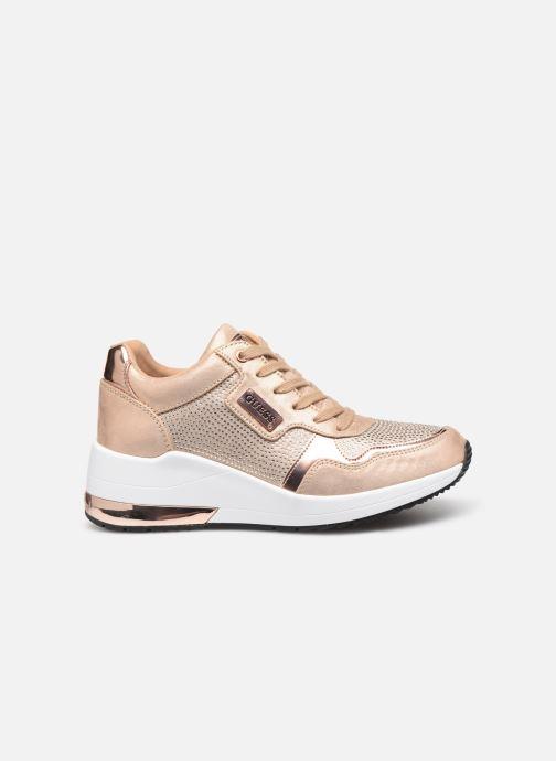 Sneakers Guess JANEET Goud en brons achterkant