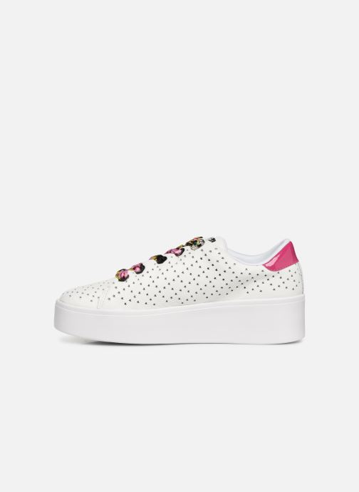 Sneakers Guess TOWNSER Wit voorkant