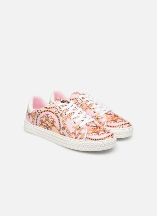 Trainers Guess PARLAY5 Multicolor 3/4 view