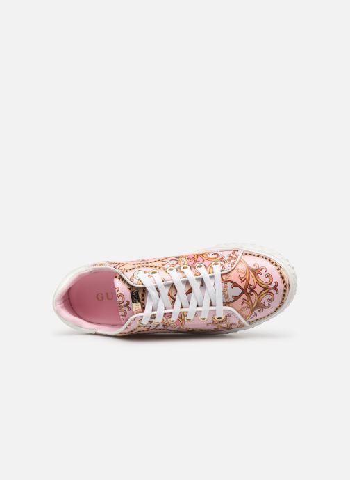Sneaker Guess PARLAY5 mehrfarbig ansicht von links