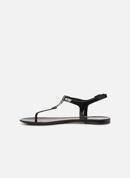 Sandales et nu-pieds Guess JACODE Noir vue face