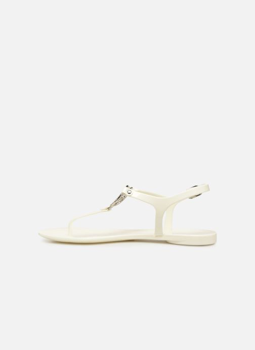 Sandalias Guess JACODE Blanco vista de frente