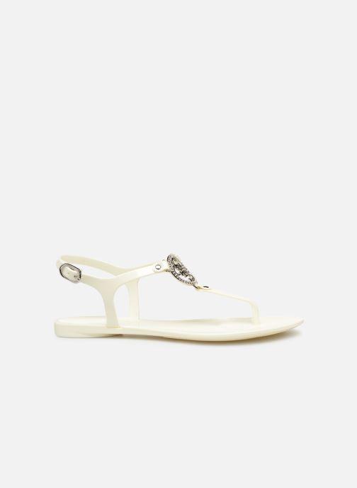 Sandales et nu-pieds Guess JACODE Blanc vue derrière