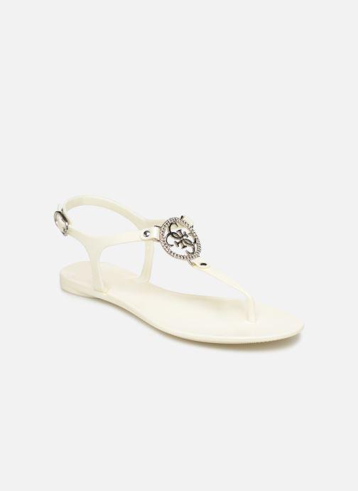 Sandales et nu-pieds Guess JACODE Blanc vue détail/paire