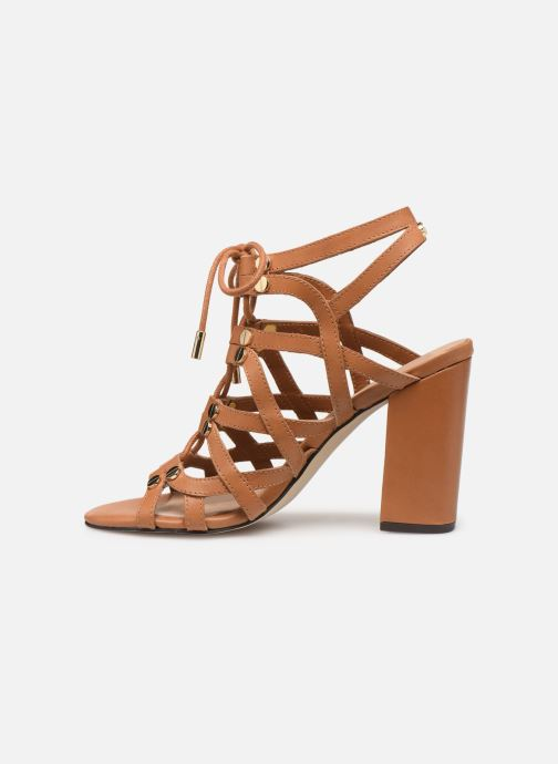 Sandals Guess KARLIE Brown front view