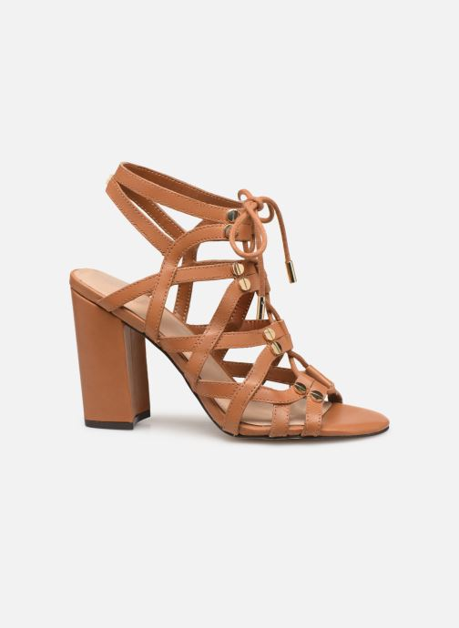 Sandals Guess KARLIE Brown back view