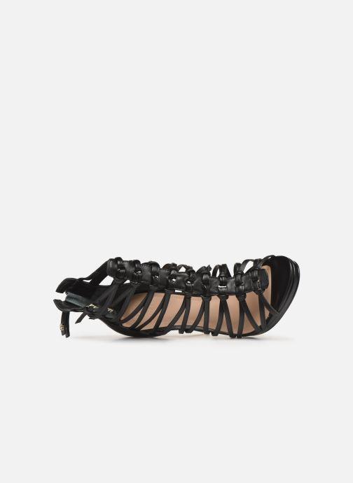 Sandales et nu-pieds Guess TAAVI Noir vue gauche