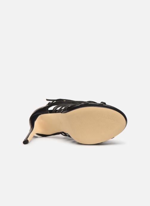 Sandales et nu-pieds Guess TAAVI Noir vue haut