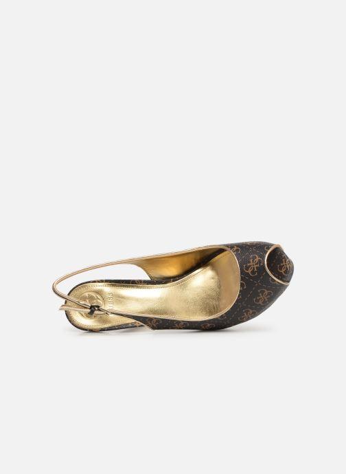 Zapatos de tacón Guess HARTLIA Marrón vista lateral izquierda