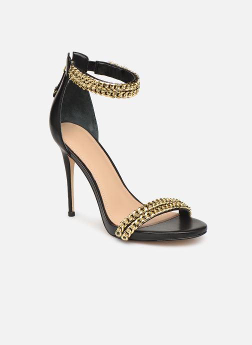Sandals Guess THADDEA2 Black detailed view/ Pair view