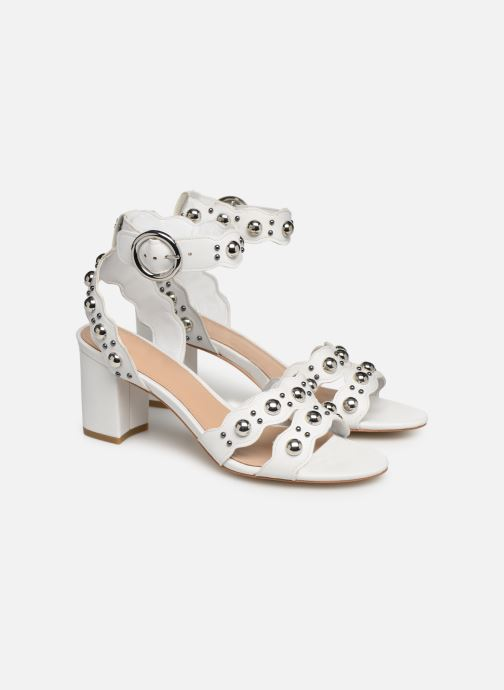 Sandals Guess NIKEY White 3/4 view