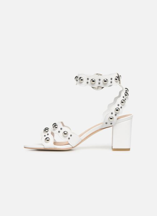 Sandals Guess NIKEY White front view