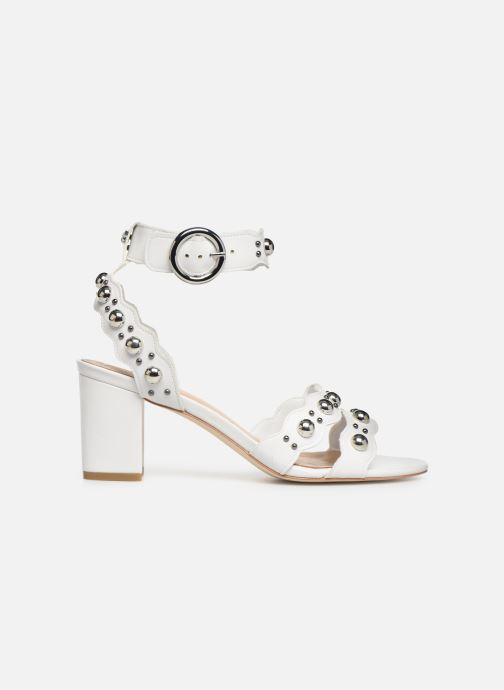 Sandals Guess NIKEY White back view