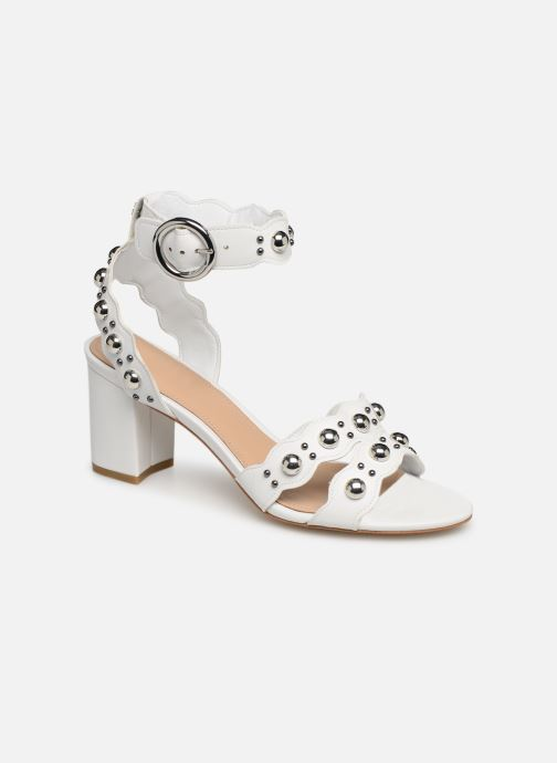 Sandals Guess NIKEY White detailed view/ Pair view