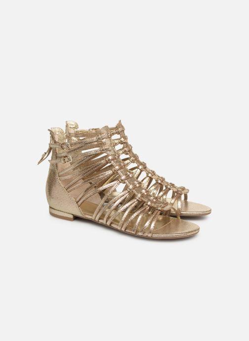 Sandali e scarpe aperte Guess RENATA3 Oro e bronzo immagine 3/4