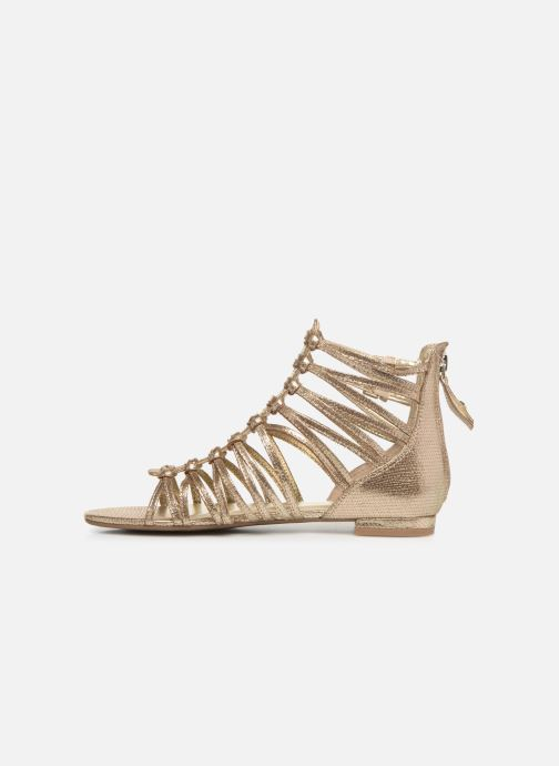Sandales et nu-pieds Guess RENATA3 Or et bronze vue face