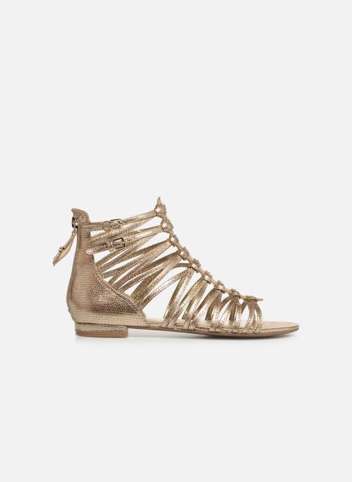Sandales et nu-pieds Guess RENATA3 Or et bronze vue derrière
