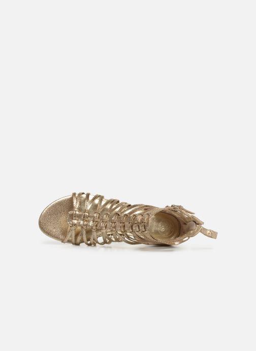Sandales et nu-pieds Guess RENATA3 Or et bronze vue gauche