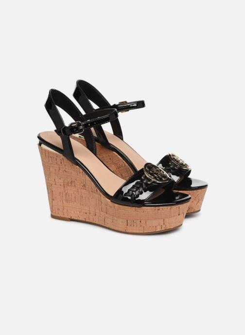 Sandales et nu-pieds Guess GESINA2 Noir vue 3/4