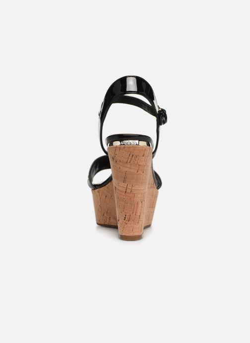 Sandales et nu-pieds Guess GESINA2 Noir vue droite
