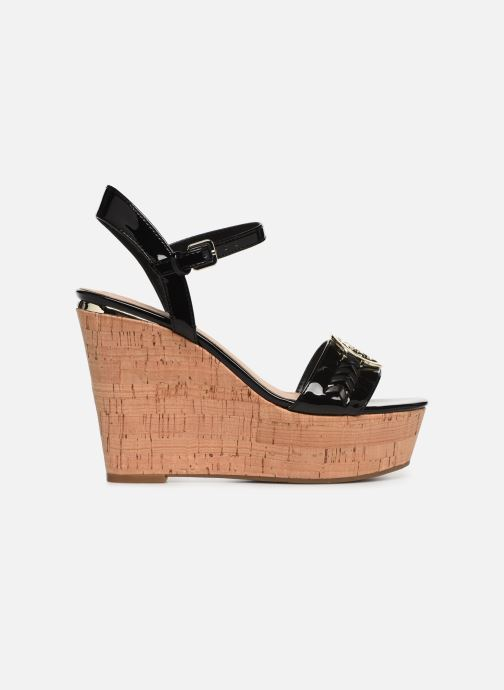 Sandales et nu-pieds Guess GESINA2 Noir vue derrière