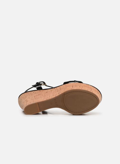 Sandales et nu-pieds Guess GESINA2 Noir vue haut